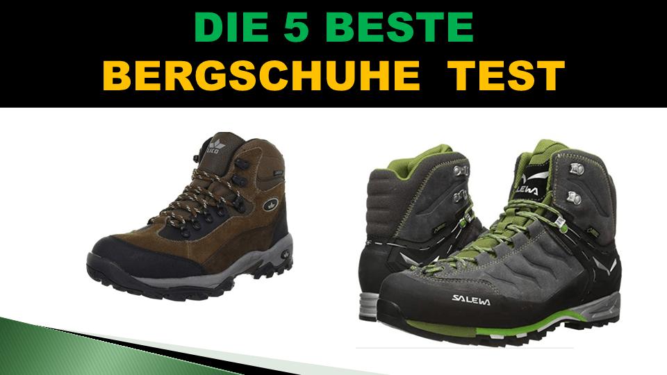 new products 983e2 aea7b Beste Bergschuhe Test 2019 - ObenTest
